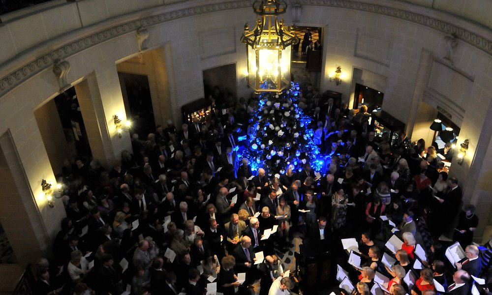 Christmas Carol concert at Pall Mall