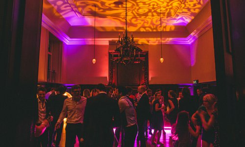 Dance floor and ceiling lighting