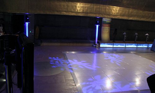 Flexible dance floor