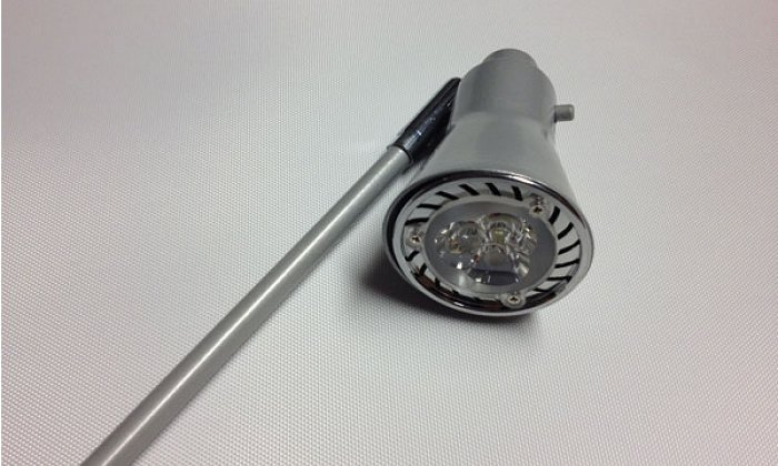 Chrome Stem LED Warm White Bar Light
