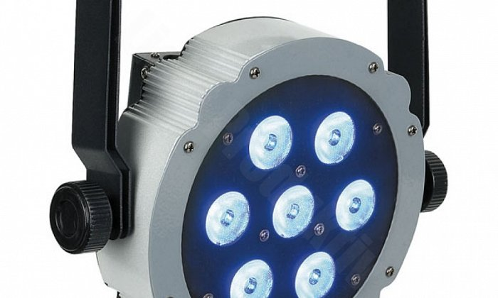Showtec LED Flat Par (Colour Selectable Uplight)