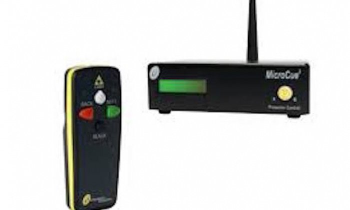 Micro Cue 'clicker' & Laser Pointer for PowerPoint / Keynote slides