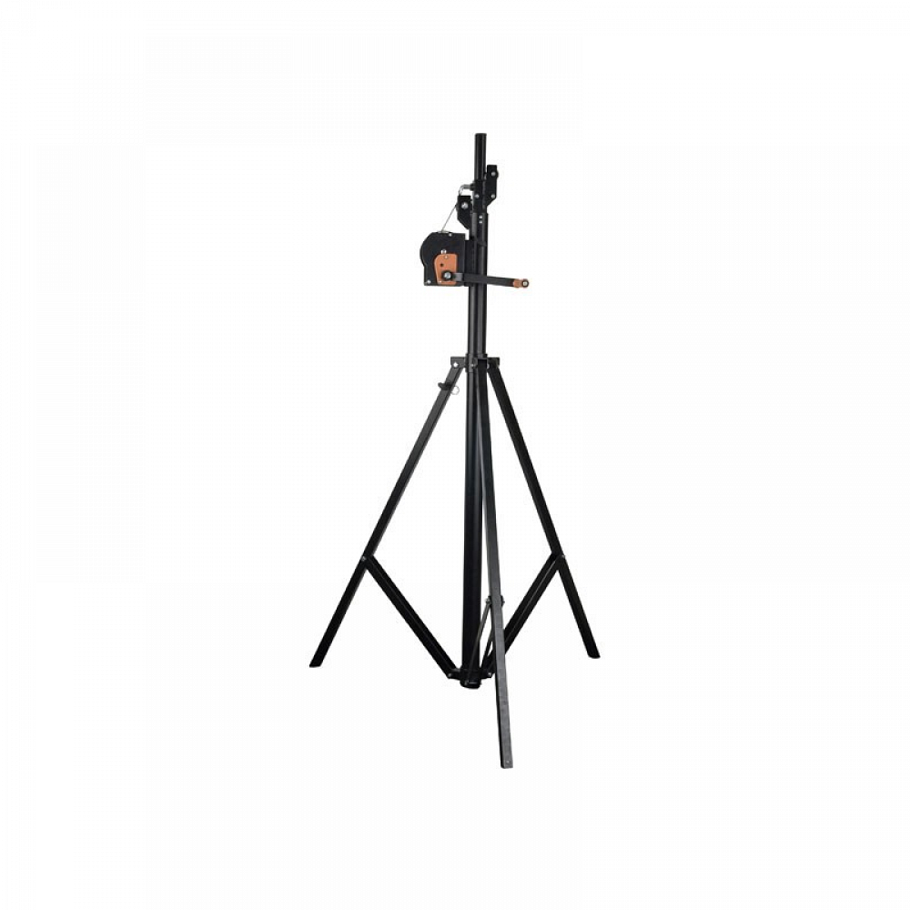 Wind-up Single Lighting Stand (Black)
