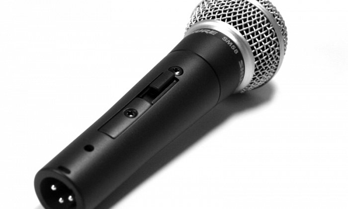 Switched SM58 (DJ / Wired Backup Mic)