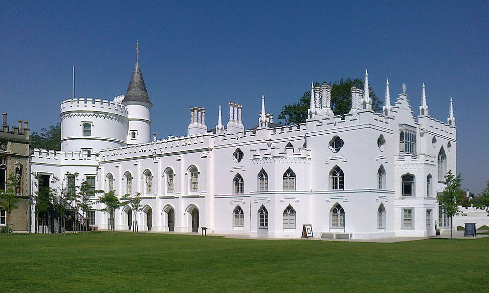 Strawberry Hill House from garden