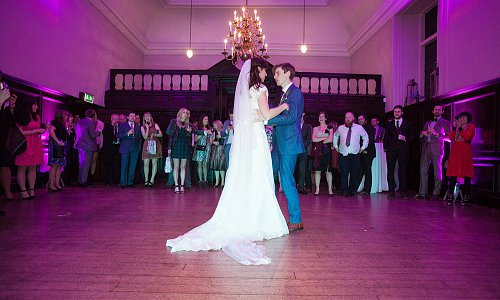 Create the perfect moment for your first dance