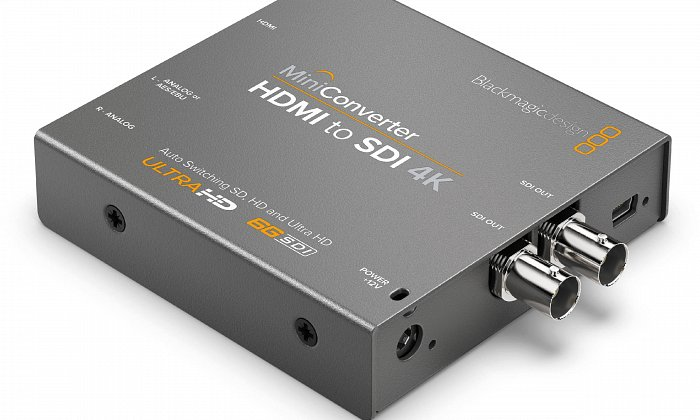 Blackmagic HDMI - SDI Converter