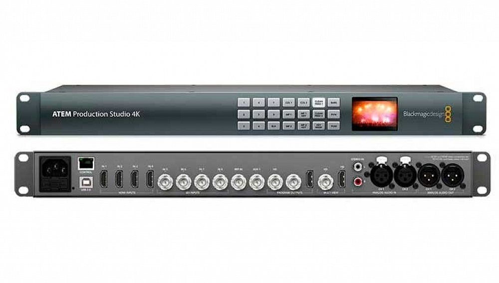 Blackmagic 4k Switcher (HDMI & SDI)