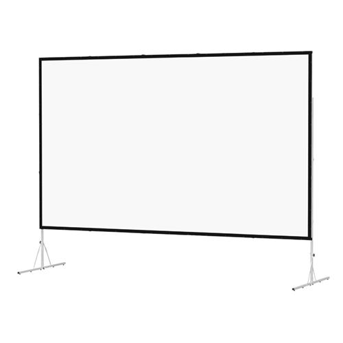 8' x 6' Fast Fold Screen, Front or Rear Projection with Black Skirt