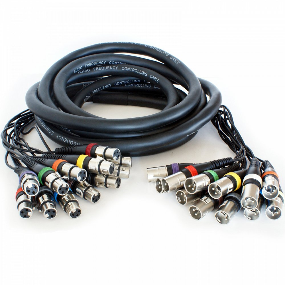 8 Way XLR Multicore (20m)