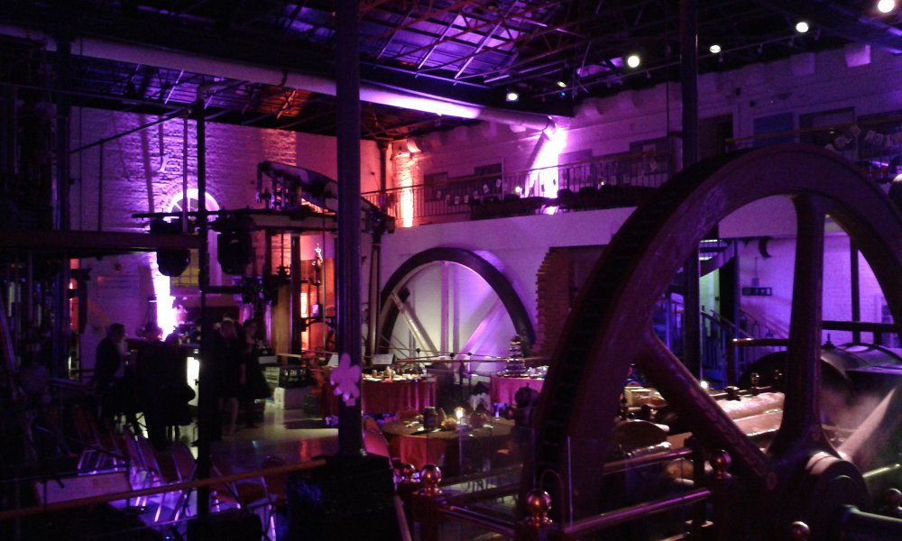 Transform Victorian industry into a stunning party