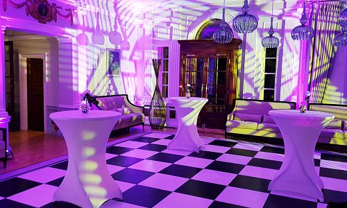 Lighting in the Lounge at Woodcote Park